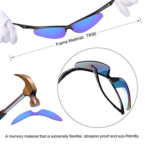 4a24e544af2 HODGSON Cycling Polarized Sunglasses for Men or Women