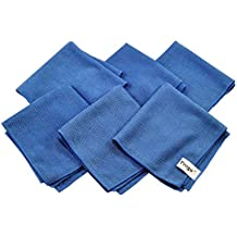 Progo Ultra Absorbent Microfiber Cleaning Cloths for LCD/LED TV, Laptop Computer Screen, iPhone, iPad and more. (6 Pack)