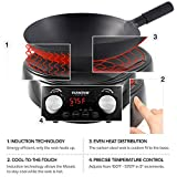 NUWAVE MOSAIC Induction Wok with 14-inch carbon