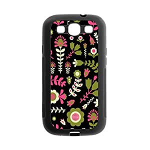 Danny Store Cute Floral Protective Gel Back Fits Cover Case for SamSung Galaxy S3