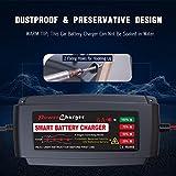 BMK 12V 5A Smart Battery Charger Portable Battery