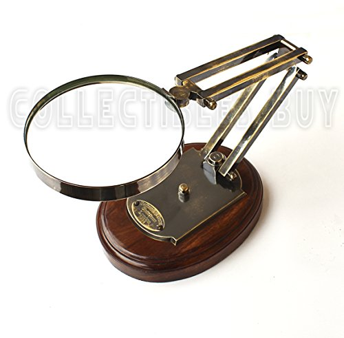 Collectibles Buy Barraud & Sons London Table Brass Magnifying Glass
