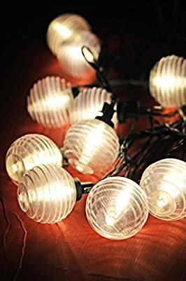 Richland Solar Lantern String Lights Patio Set