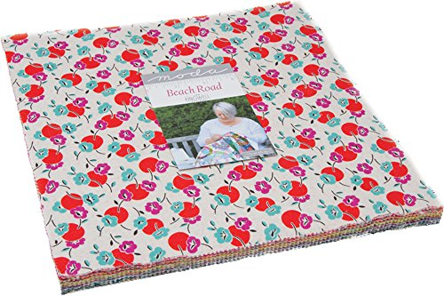 Beach Road Layer Cake, 42-10 inch Precut Fabric Quilt Squares by Jen Kingwell by MODA