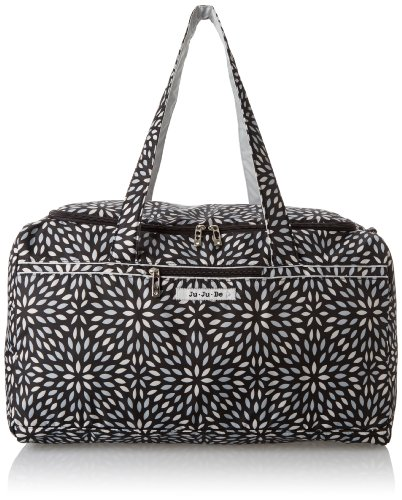 Ju-Ju-Be Super Star Large Travel Duffel Bag, Platinum Petals by Ju-Ju-Be (Image #3)