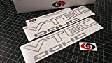 VTEC DOHC Vinyl Decal Sticker Import Tuner METALLIC SILVER by Underground Designs