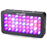 Cheap Global Star® 300W LED Grow Light Full Spectrum for Indoor Plants Greenhouse Growing Lamp Fixtures 50x6W and 2 Switches