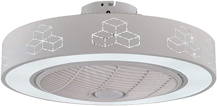 ZYDPDJZM Luz del Ventilador Fan Light Habitación Ventilador de ...