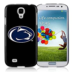 Samsung Galaxy S4 Ncaa Big Ten Conference Football Penn State Nittany Lions Black Screen Cellphone Case Personalized and Unique Cover