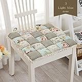 Square Anti-Decubitus Cotton Chair Cushion Fashion Office Student Chair Mat Home Decor Thicken