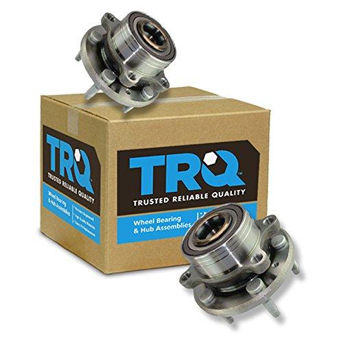 TRQ Wheel Bearing & Hub Assembly Kit Pair Set of 2 for Ford Explorer (Explorer Wheel)
