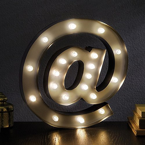 Illuminated Poster Marquees (Ampersand - LED Illuminated Marquee Sign - 13-1/2-in)