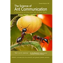 The Science of Ant Communication: A Discussion of How Ants Talk to Each Other