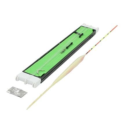 Flotador auto ajustable hilo de pescar Esponja verde de la cola de los trastos fishings Kits