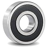 6302 bearing - 6302-2RS Sealed Bearing - 15x42x13 - Lubricated - Chrome Steel