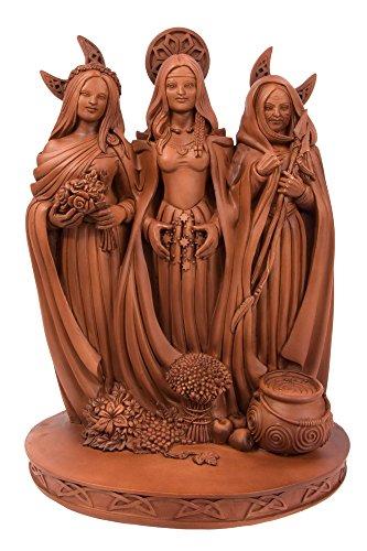 Sacred Source Triple Goddess Statue ()