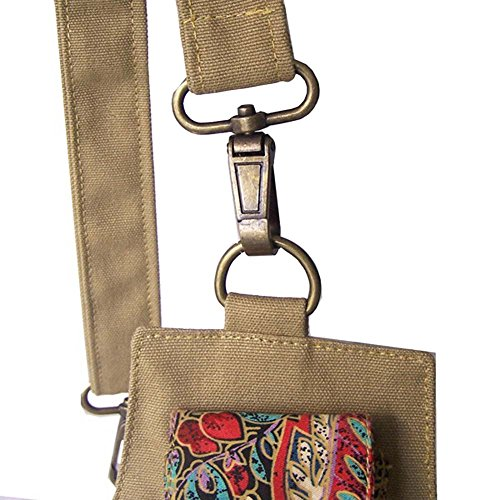 Vintage Bohemian Travel Canvas Bag Retro Shoulder Sports Printed Style Satchel Women's Bag qnIE8xRE