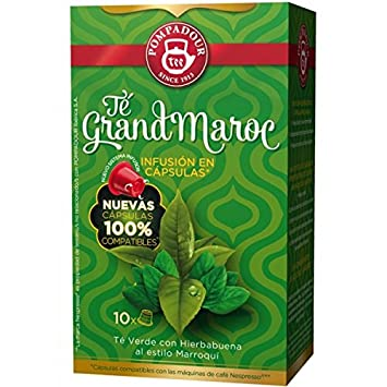 POMPADOUR for the ORIGINAL Nespresso system Capsules - Grand Morocco TEA - 10 caps / sleeve