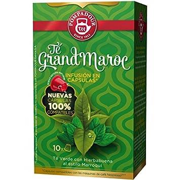 POMPADOUR for the ORIGINAL Nespresso system Capsules - Grand Morocco TEA - 10 caps / sleeve
