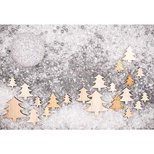 (Leyiyi Winter Christmas 2019 Happy New Year Party Backdrop Christmas Tree Virtual Cold Snowflake Blurry Water Drop Big Twinkling Snowball Santa Workshop Backdrop 10x8ft Vinyl Photography Background)