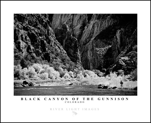 Poster, Gunnison River (Fishing The Black Canyon Of The Gunnison)