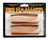 Big Hammer Swimbait, Calico Hunter, 5-Inch