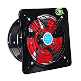 10Inch 220V 100W Booster Fan Extractor Dryer Vent Ventilator Blower Fan Ventilation Fan