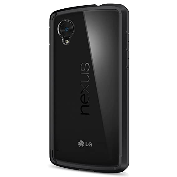 pretty nice 1f046 e1355 Spigen Ultra Hybrid Nexus 5 Case with Air Cushion Technology and Hybrid  Drop Protection for Nexus 5 - Black
