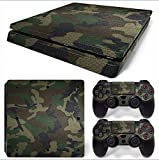 Gam3Gear Vinyl Decal Protective Skin Cover Sticker for PS4 Slim Console & Controller - Urban Camouflage v2