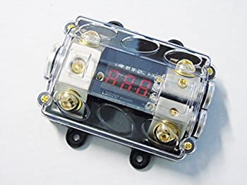 1 In 2 Out Anl Fused Eye Candy 0 4 Gauge Power Distribution Blocks Block 12v Car Truck Mobile Offroad 0