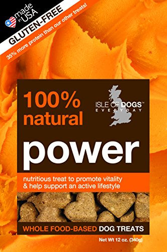 Isle of Dogs 100-Percent Power Natural Baked Treat, All Stages