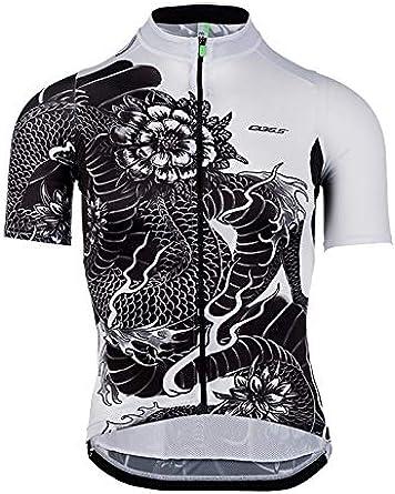 B Blesiya Q36.5 Jersey Shortsleeve G1 Dragon, Camiseta de Ciclismo para Hombre: Amazon.es: Ropa y accesorios