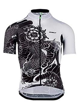 Q36.5 Maillot de Cyclisme pour Homme en Jersey Shortsleeve G1 Dragon