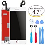 Ibaye New LCD Touch Screen Replacement White for iPhone 6S 4.7 inch with Touch Digitizer Glass Disply Assembly Repair Replacement + Free Repair Tool Kits White