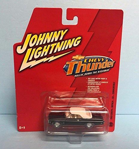 Chevy Thunder - 1969 Chevy Impala SS Conver WHITE LIGHTNING 2006 Chevy Thunder Johnny Lightning