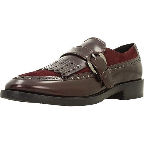 Marca Mujer Para Zapatos Modelo Color Geox Rojo nZvx5Hwx