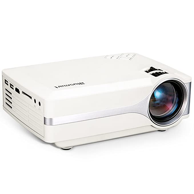 Proyector, Blusmart LED-9400 Video 1080P Full HD Mini Proyector ...