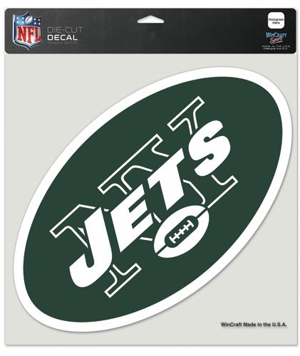 Wincraft NFL New York Jets Die-Cut Color Decal, 8