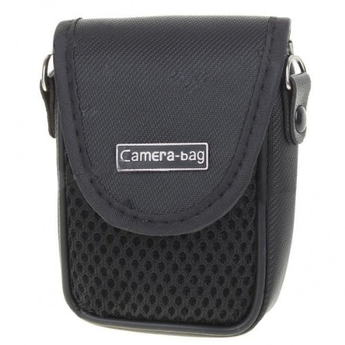 Universal Bag Pouch with Neckstrap for Digital Camera (Sony Cybershot Compacts), Memory Cards, Batteries etc