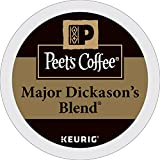 : Peet's Coffee Major Dickason's Blend Dark Roast 32ct K-Cup Packs