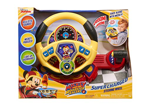Steering Racer Wheel - Mickey Roadster Racers SuperCharged Steering Wheel