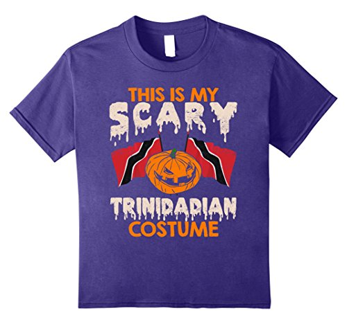 Kids This Is My Scary Trinidadian Costume Halloween T-shirts 12 (Trinidad Halloween Costumes)