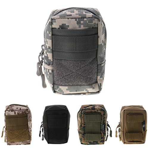 chiwanji Military Hunting Molle Medical First Aid Pouch Waist Phone Bag - Noir 1