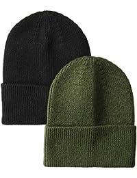 Amazon Essentials Men's 2-Pack Knit Hat