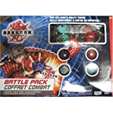 Bakugan Battle Brawlers Series 2 Battle Pack - 6 Pack Colors Red and Green