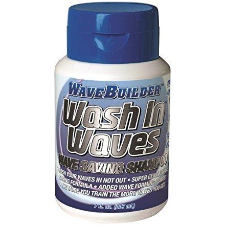 (Wavebuilder Wash in Waves Shampoo 7 oz. (Pack of 6))