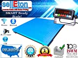 Selleton 5'X5' (60'' X 60'') 2500Lb X .5Lb Floor Scale /Pallet Scale With Medal Indic.
