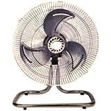 Energy Efficient Oscillating Quiet Speed Adjustable Air Circulator 9 Desk Fan