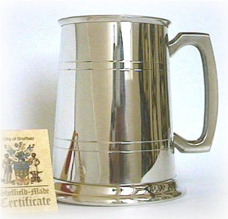 England Sheffield Pewter Beer (Pewter Tankards Steins)