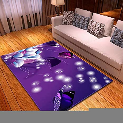Amazon.com: Alfombra de diseño moderno 3D para sala de estar ...